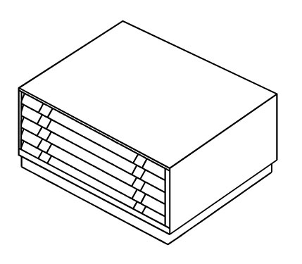 Картотека BISLEY FCB-40L(РС463)